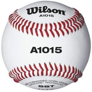 Wilson NFHS Baseballs Grade C Leather (1 DOZ)