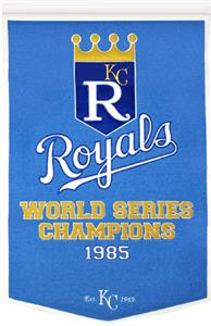 Winning Streak MLB Kansas City Royals Banner
