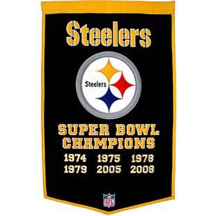 Winning Streak NFL Pittsburgh Steelers Banner