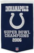 Winning Streak NFL Indianapolis Colts Banner