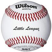 Wilson Little League Tournament Play Baseballs 1DZ