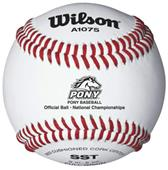 Wilson Pony Tournament Play Youth Baseballs 1 DZ
