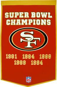 Winning Streak NFL San Francisco 49ers Banner