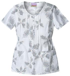 Skechers Women's 1/2 Placket Scrub Top