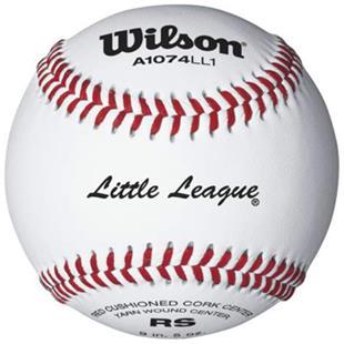 Wilson Little League Regular Season Baseballs 1DZ