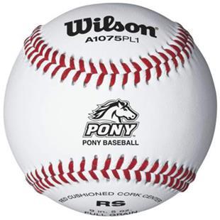 Wilson Youth Pony Regular Season Play Baseballs DZ