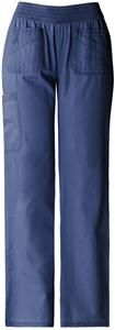 Dickies Women's New Blue Smocked Waist Scrub Pants