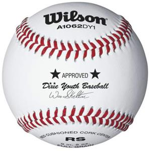 Wilson Dixie Youth League Baseballs 1 Dozen