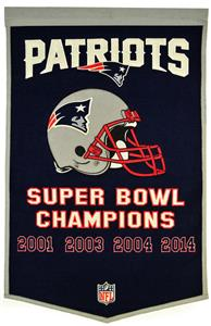 Winning Streak NFL New England Patriots Banner