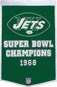 Winning Streak NFL New York Jets Dynasty Banner