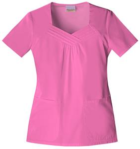 Skechers Women's Sweetheart Neck Scrub Top