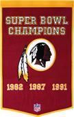 Winning Streak NFL Washington Redskins Banner