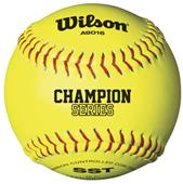 NFHS Cork Center Fastpitch Softballs (1 Dozen)