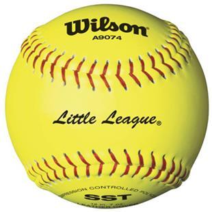 Wilson Little League Fastpitch Softballs (1 DOZ)