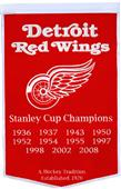 Winning Streak NHL Detroit Red Wings Banner