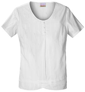 Skechers Women&#39;s 1/2 Placket Scrub Top