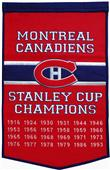 Winning Streak NHL Montreal Canadiens Banner