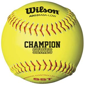 Wilson Super Seam ASA Fastpitch Softballs (1 DOZ)