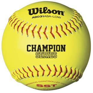 Wilson Super Seam ASA Fastpitch Softballs (1 DOZ)