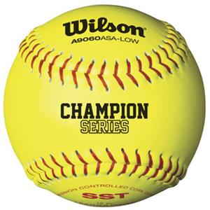 ASA Cork Center Fastpitch Softballs (1 Dozen)
