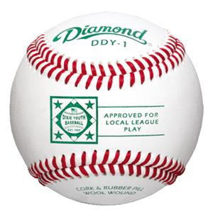 Diamond DDY-1 Dixie Youth Comp. Grade Baseballs