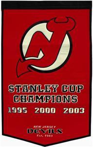 Winning Streak NHL New Jersey Devils Banner