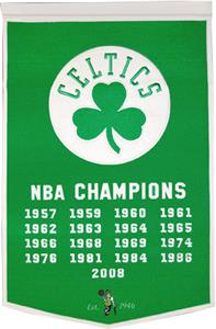 Winning Streak NBA Boston Celtics Dynasty Banner