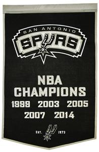 Winning Streak NBA San Antonio Spurs Banner