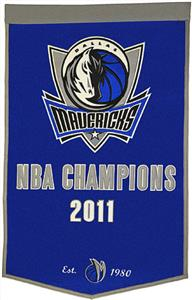 Winning Streak NBA Dallas Mavericks Dynasty Banner