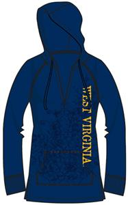 West Virginia Womens Cozy Pullover Hoody
