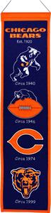 Winning Streak NFL Chicago Bears Heritage Banner
