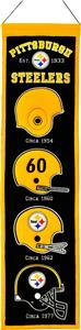 Winning Streak NFL Pittsburgh Steelers Banner