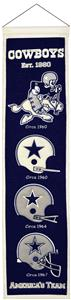 Winning Streak NFL Dallas Cowboys Heritage Banner