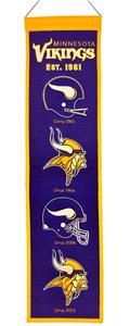 Winning Streak NFL Minnesota Vikings Banner