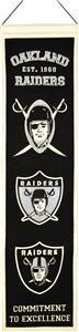 Winning Streak NFL Oakland Raiders Heritage Banner