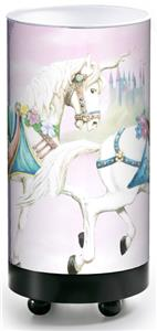 Illumalite Designs Unicorn Carousel Table Lamp