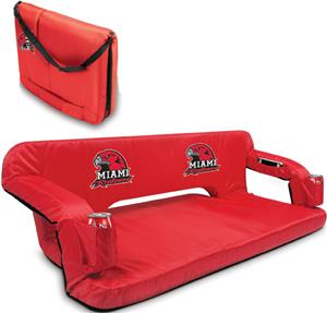 Picnic Time Miami University (Ohio) Reflex Couch