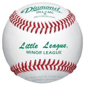 Diamond DLL-1 MC Little &  Minor League baseballs
