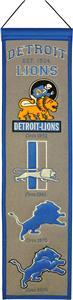 Winning Streak NFL Detroit Lions Heritage Banner