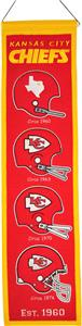 Winning Streak NFL Kansas City Chiefs Banner