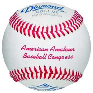 Diamond AABC Amateur Baseball Congress Baseballs