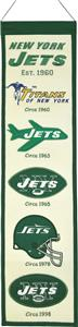 Winning Streak NFL New York Jets Heritage Banner