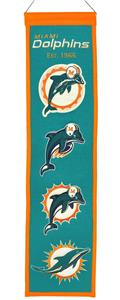 Winning Streak NFL Miami Dolphins Heritage Banner