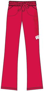 Emerson Street Wisconsin Badgers Womens Cozy Pants