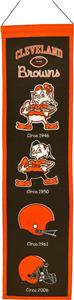 Winning Streak NFL Cleveland Browns Banner