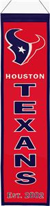 Winning Streak NFL Houston Texans Heritage Banner