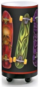 Illumalite Designs Skateboards Table Lamp