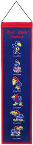Winning Streak NCAA Kansas University Banner