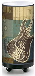 Illumalite Designs Guitar Collage Table Lamp