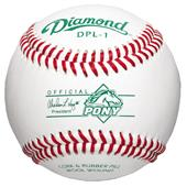 Diamond DPL-1 Pony League Official Baseballs